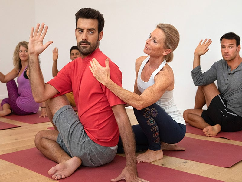 Group Yoga courses