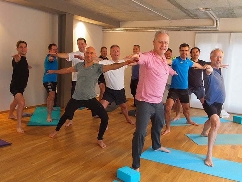 Yoga in business